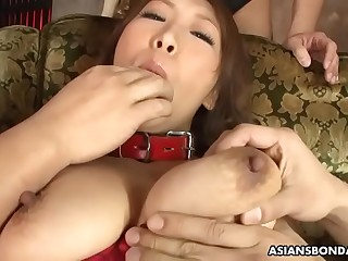 Rum is a perfect, busty sex slave in erotic lingerie