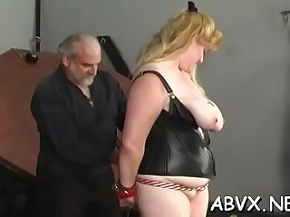 Blubbering maiden is fake penis her erotic muff