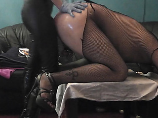 My hot headmistress pegging his cd sissy thrall butt with dingdong