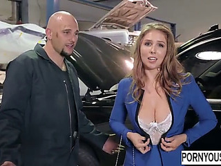 Breasty mother i'd like to screw acquires her bawdy cleft serviced as well pornyousee.com