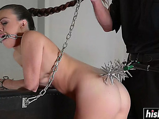 Tiffany receives her wazoo drilled hard