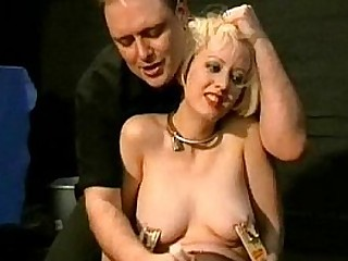 Nipple Clamped Pussy Supremacy