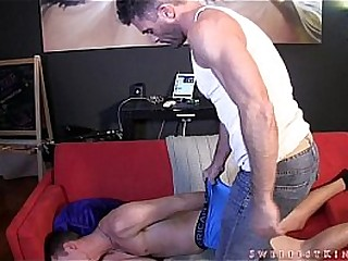 Wedgied By My Man-meat TABOO DOMINATION