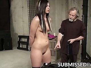 Alt seductress tormented after bondage