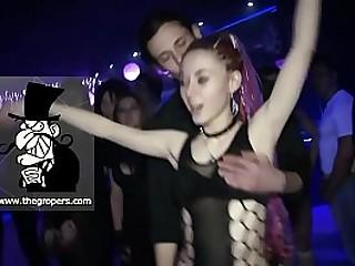 BDSM Groping amd rubbing