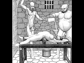 Dungeon terrors brutal extreme restrain bondage bdsm toons art