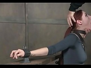 bdsm rough lovemaking - Young slut shows her deepthroat skill - WWW.GIFALT.COM - bondage fetish
