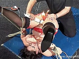 Enslaved milfs pussy scorching waxing and extraordinary bbw bdsm of unexperienced slavegirl