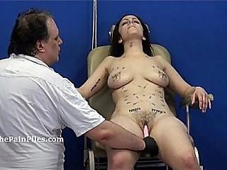 Extreme needle tantalizes and merciless punishment of amateur slavegirl