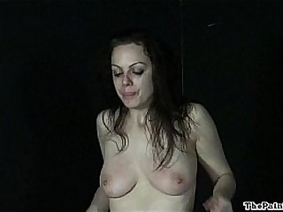 Hardcore sextoys predominance and whipping of crying submissive Beau in extreme bd