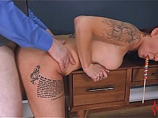 Painal instructing for anal virgin