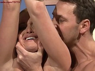 Cheating wife Kathia Nobili, humiliated, then fucked in her ass with big one.