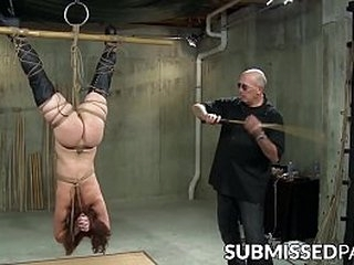 Chained vixen moans in conformity