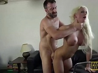 Blonde Babe Submits To Rough Anal