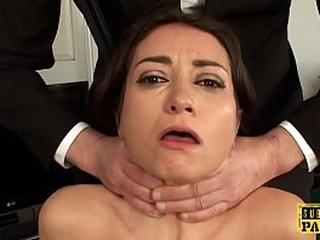 British squirter babe c. during anal fuck