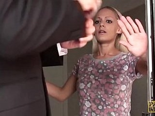 Busty subslut destroyed with anal sex