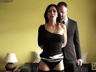 Servant Busty Latina Roughly Fucked