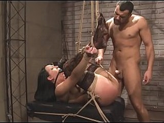 Cane is working on Chanel's body. Then her Sir nails her hard.