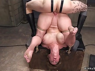 Huge boobs Milf gangbang bdsm fuck