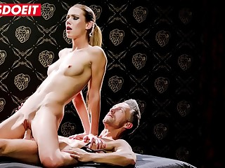 LETSDOEIT  Gorgeous Alexis Crystal Erotically Banged In Lutro'_s Bondage