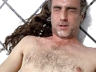 slave gregory patrick video 7 Ama Clea golden shower facial mouth hair wash hot wet urine outdoor whore