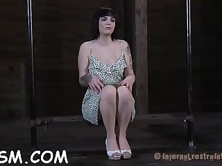 Stuffing angel with hard toy