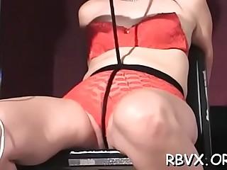 Sweet playgirl loves servitude time