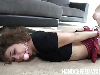 I swear I will be good if you take off my handcuffs JOI