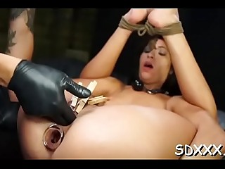 Glorious Esmi Lee fingered and bitchy firm