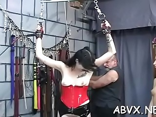 Submissive amateur rough servitude