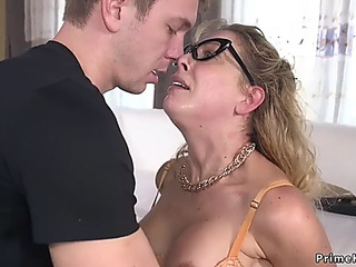 Mom I'd Like To Fuck in slavery anal drilled and cummed
