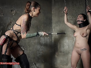 Lesbo mistres drubbing servitude thrall 2