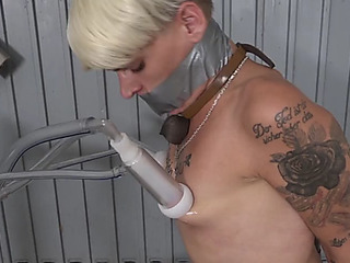 Stripping,threatening milking,menacing jerk off