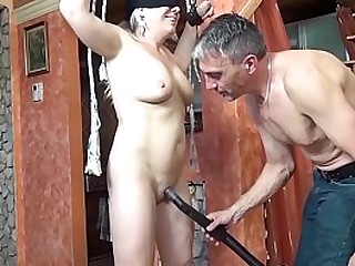 mature likes her first bondage screw lesson