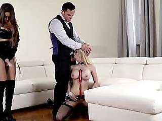 Lates Mistress Kendra Star Shares Submissive Maid With Her Hubby