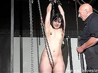 New inexperienced slave Honesty Cabelleros bondage and domination in the dungeon space of bd