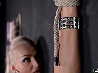 BDSM games light up Kayla Green's kinky desires for big tits anal gonzo banging