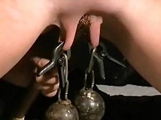 Redhead submissives tit and extraordinary domination of hardcore bdsm slave Ch
