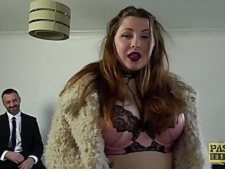 Enslaved BBW Estella Bathory punished by Pascals cock