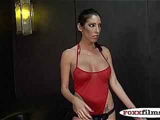 Dava Foxx pegs Miles HARDCORE FEMDOM