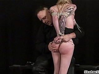Tit tantalized blondes harassment Domination & submission and hardcore submission of tattooed amateur