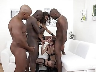 Henessy is back with full domination and hard fucking feat. Julia Red