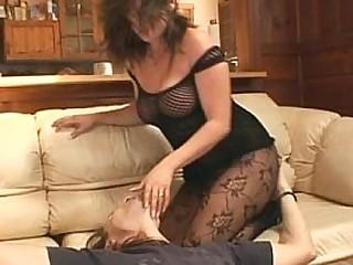 Venus facesitting and blowjob