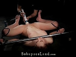 Bondage agony for young victim punished and fucked in submission
