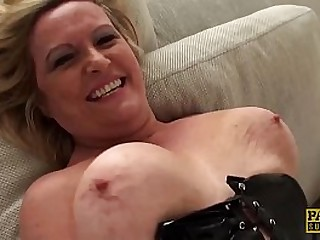 MILF pussy makes rough cock cum and Bondage & Discipline