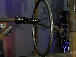 Dungeon space Bondage Table Device Sex Sub Demo