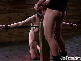intense bondage session for Jaylyn
