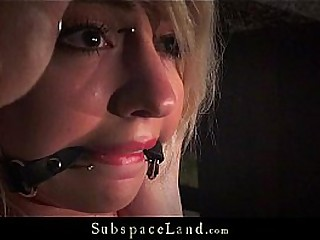 Two Slaves In Brutal Pain And Mischievous Restrain bondage Orgasm Cumshot