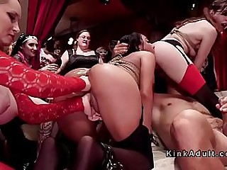 Bondage & Discipline party - best orgy, bondage, fisting, cockblowing
