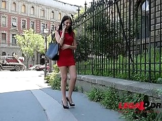 Submissive Babe Rebecca Volpetti Nuts Fucked Doggy Style in BDSM Masterpiece GP153